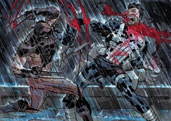 Daken vs Punisher