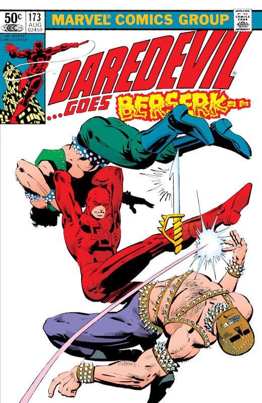 cover dell'alboUSA Daredevil #173