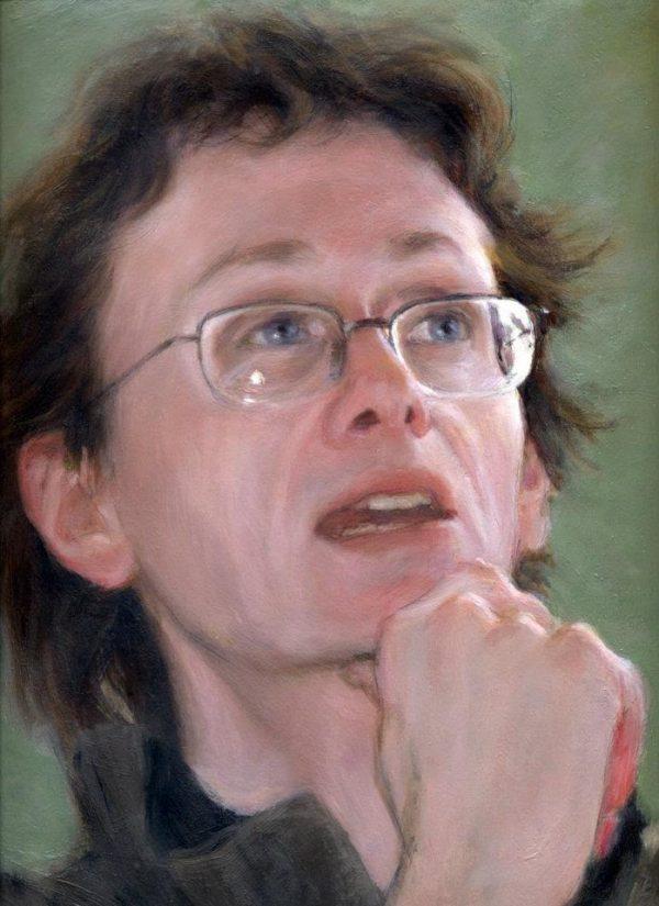 David A. Roach portrait by Luis Garcia Mozos
