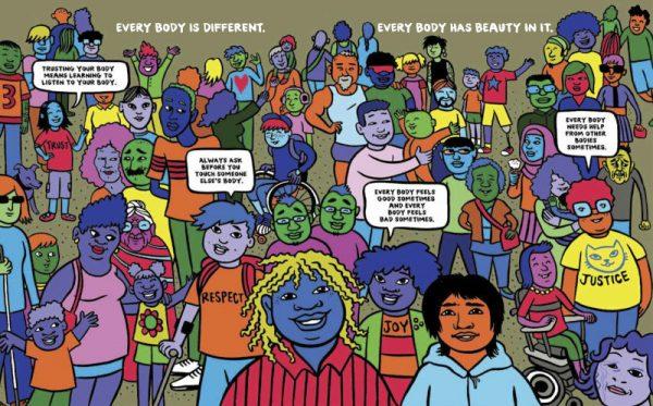 Opera di Fiona_Smyth_Cory_Silverberg che potrete ammirare nella mostraWomen in Comics