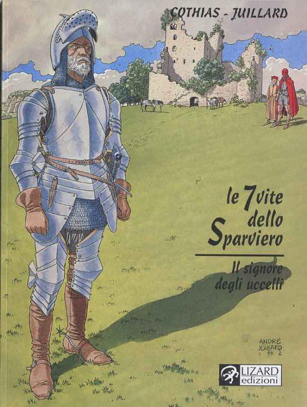 """""""Le sette vite dello Sparviero"""", il 5° volume intitolato Le Maitre des Oiseaux , l'edizione italiana di izard Edizioni"""