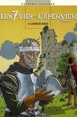 """""""Le sette vite dello Sparviero"""": il 5° volume  (1989) edizione francese"""