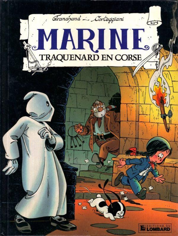7° volume di Marine, intitolato Trappola in Corsica (EDITION DU LOMBARD) - (1989)