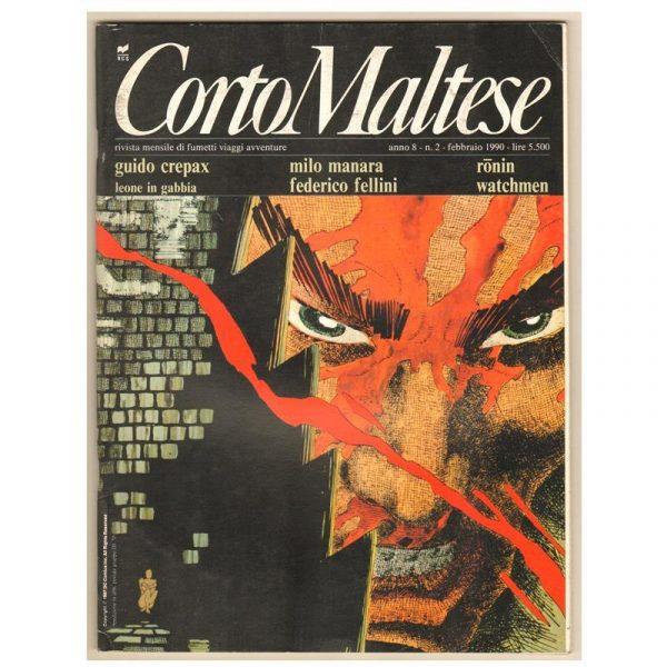 Ronin sempre di Frank Miller su Corto Maltese