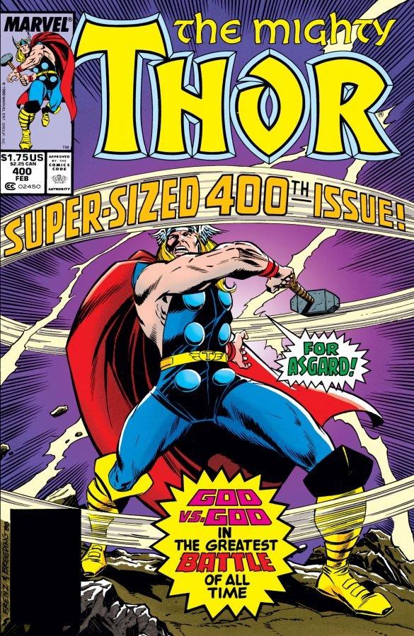Copertina di Thor # 400