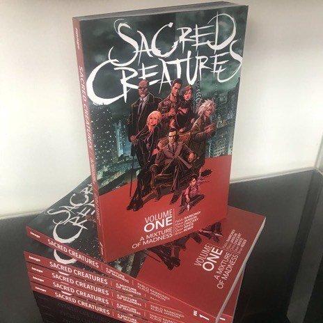 Foto dell volume Sacred Creatures