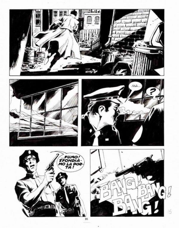 Pagina 40 di Corrado Roi da Martin mystere n. 88