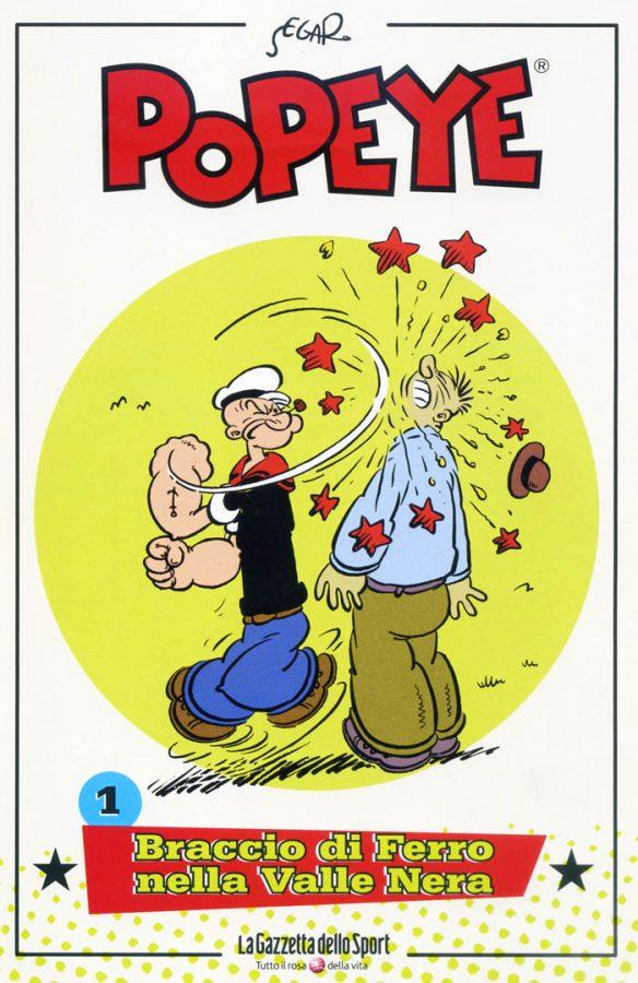 Il numero uno della collana Popeye, rizzoli - gazzetta