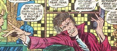 vignetta con STARR SAXON, da daredevil #49