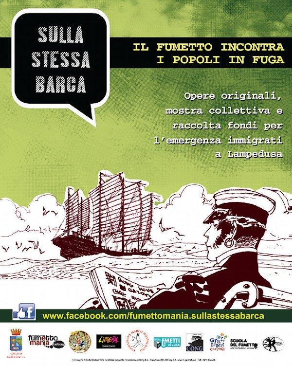 2013_30-11_Locandina_lancio del progetto_Sulla stessa barca