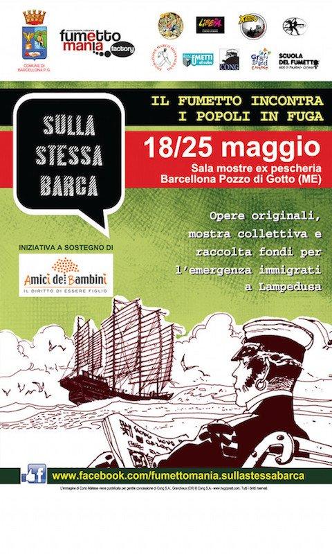 2014_18-25-maggio_Locandina_Barcellona_Sulla stessa barca