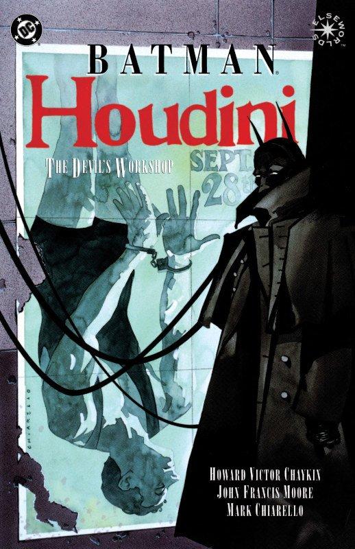 BATMAN HOUDINI (illustrato)
