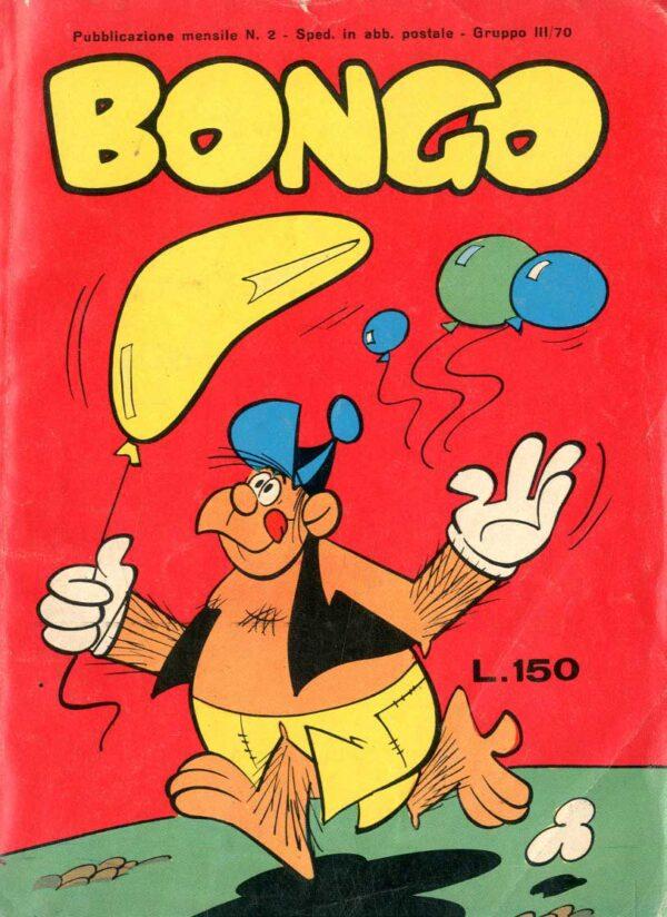 BONGO-ANNO-I-002, copertina scaricata dal sito fumetto-online nel quale l'albo è acquistabile