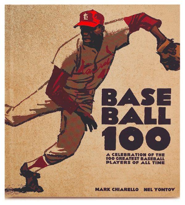 """Cover del Libro """"BASEBALL 100"""", disegni di Mark Chiarello"""