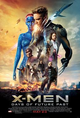 manifesto del film X-MEN: DAYS OF FUTURE PAST