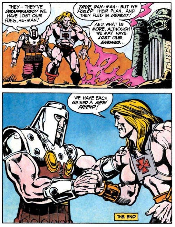 altra pagina dal fumetto Masters of the Universe_RID