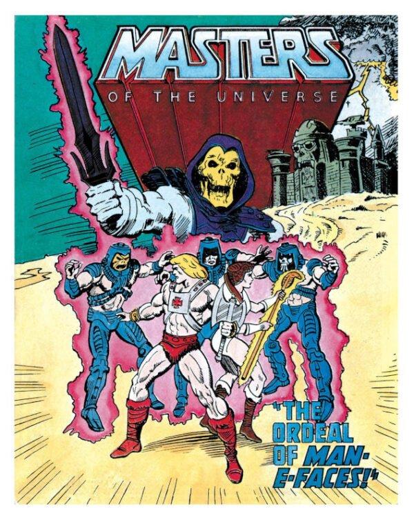 cover 1 dalla miniserie Masters of the Universe per la mattel