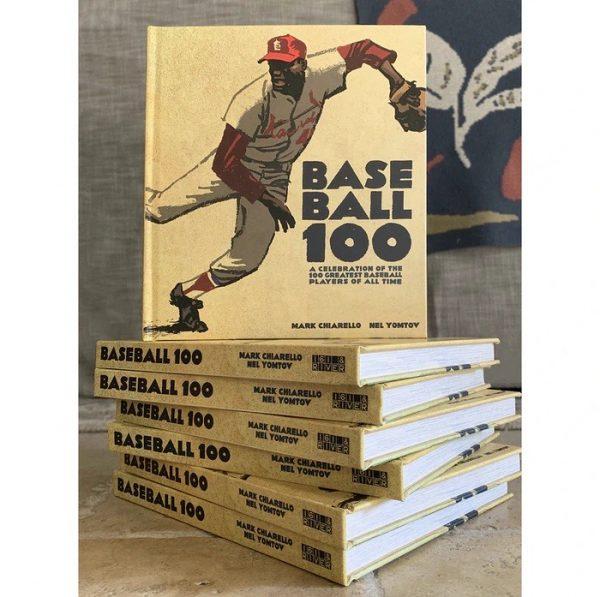 foto con vari libri di Libro BASEBALL 100
