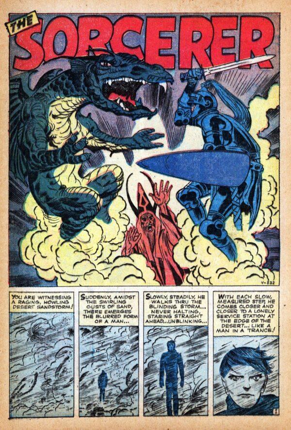 il mago daJ OURNEY INTO MYSTERY #78 (1962)