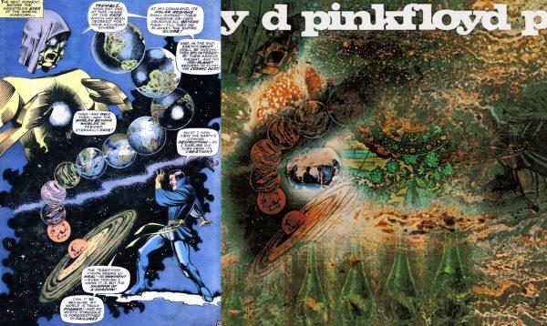 immagine dell'ALBUM A SAUCERFUL OF SECRETS (1968) ripresa da doctor strange