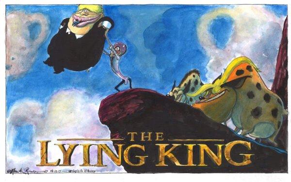 Cartoon by Martin Rowson