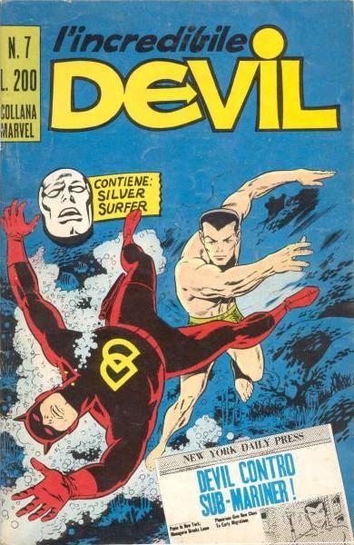 Devil n.7_edizione italiana corno