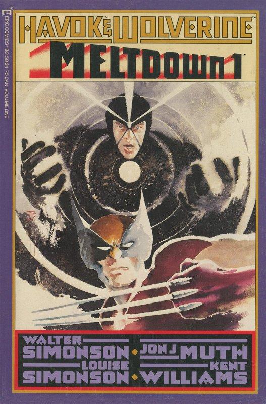 Havok and Wolverine Meltdown #1