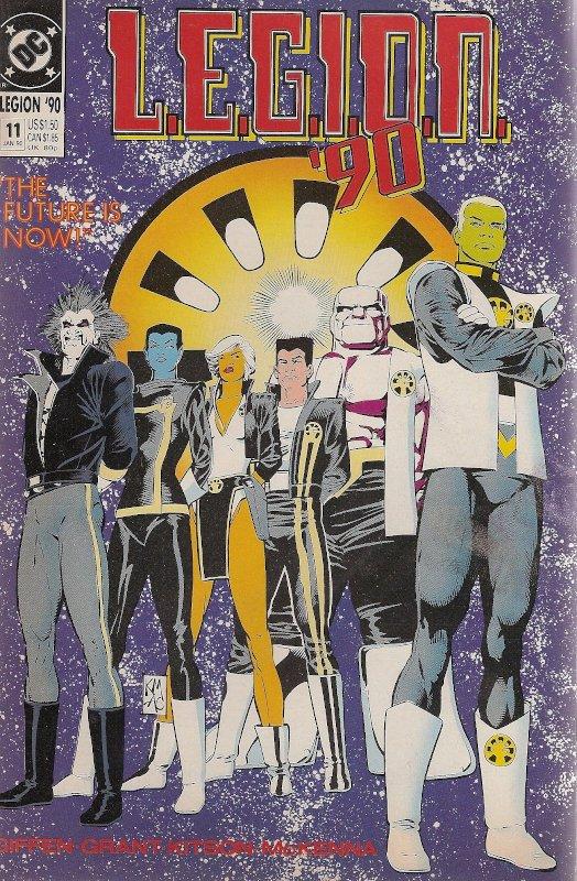 L.E.G.I.O.N. #cover dell'albo USA n. 11