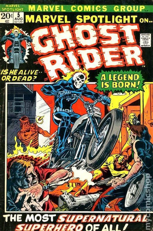 Marvel Spotlight #5-ghost rider