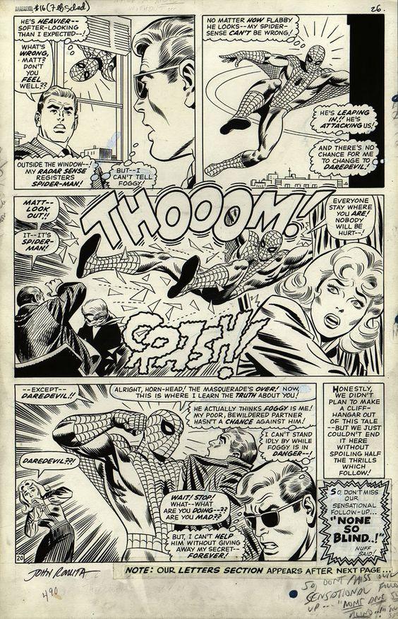 PAGINA 20 DA DAREDEVIL #16