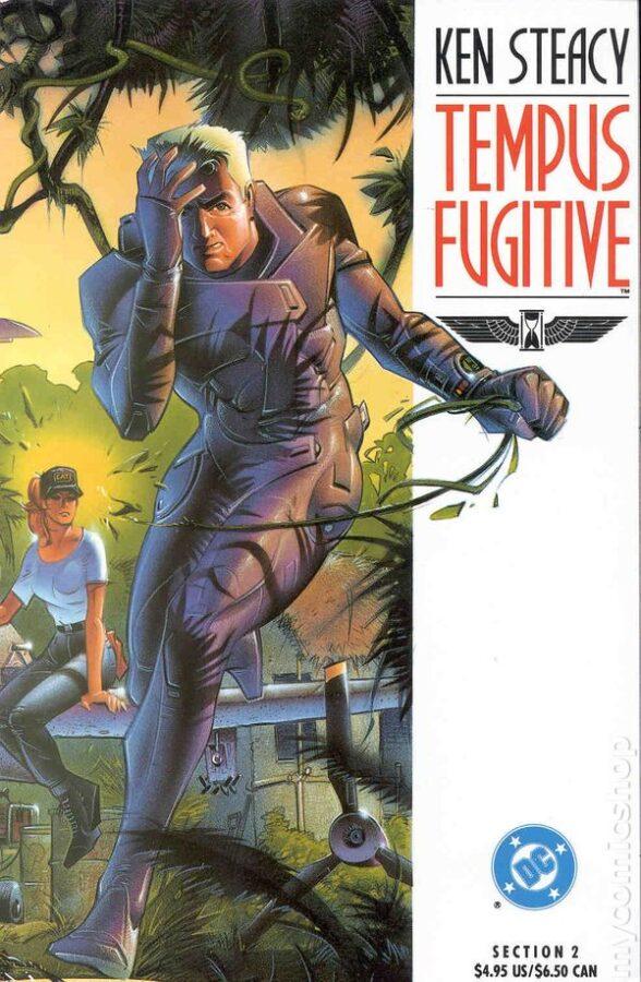 Cover di un albo di Tempus Fugitive