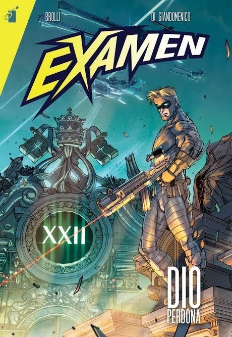 copertina di Examen_star comics.