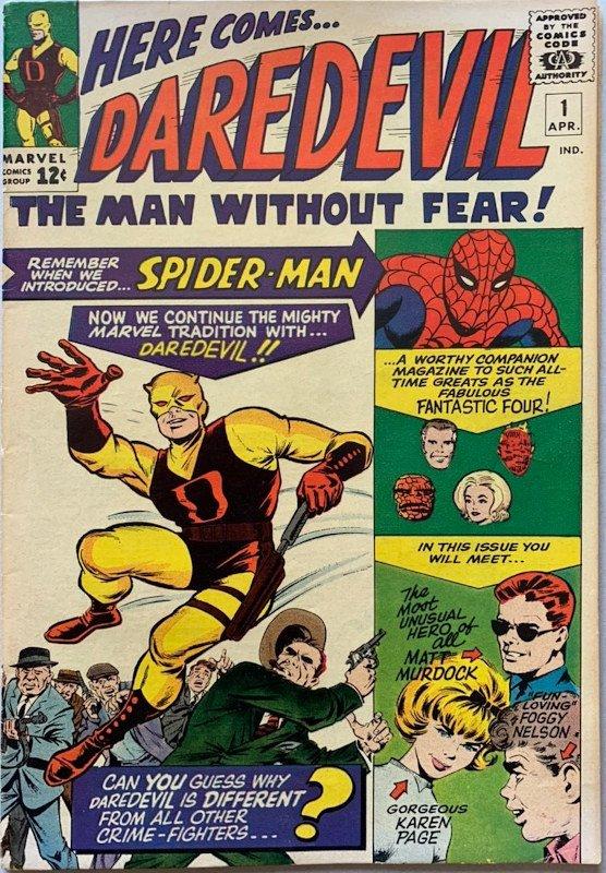 daredevil #1 cover