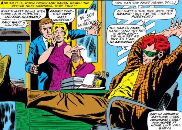 vignetta da Daredevil #16 CON MIKE Murdock