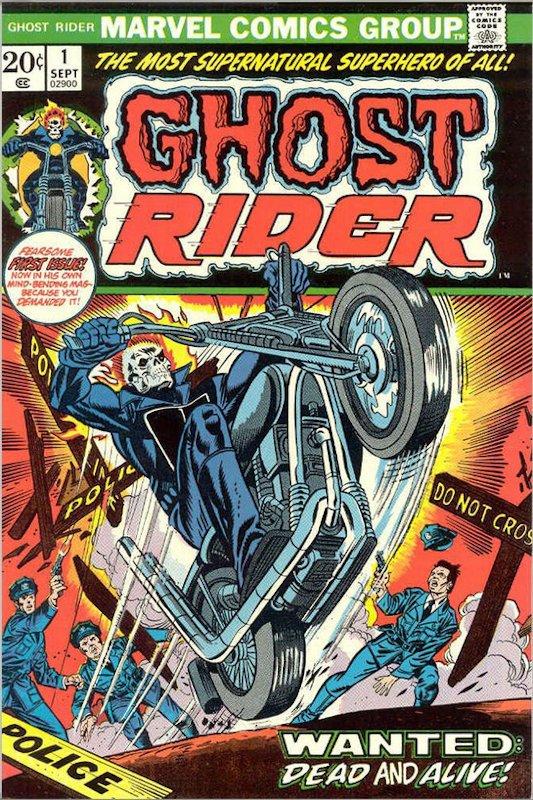 ghost rider 1_la prima collana