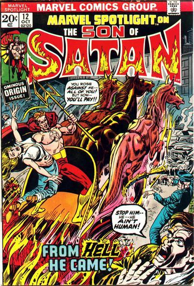 marvel Spotlight #12 - son of the satan