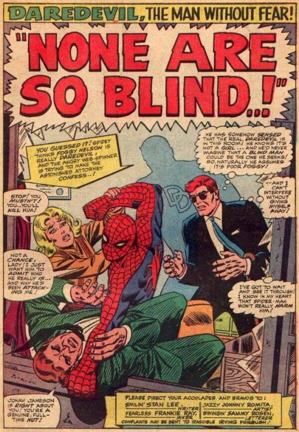 pagina da Daredevil #17