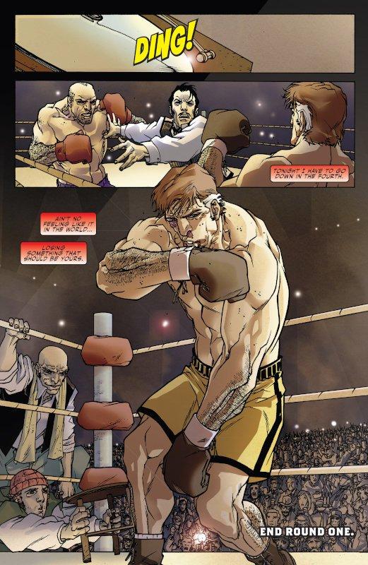 pagina intera dalla miniserie Daredevil-Battlin-Jack Murdopck