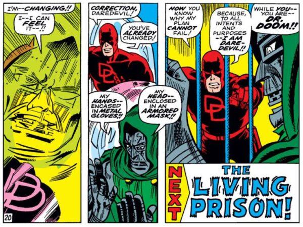 vignetta da Daredevil #37/38