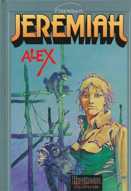 copertina del volume Jeremiah: ALEX (Ed. DUPUlS)