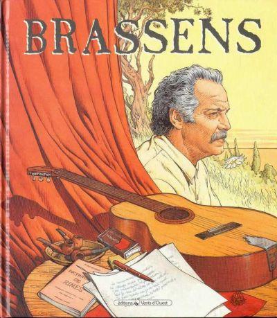Copertina del volume BRASSENS 1952-1955 (Ed. VENT D'OUEST)