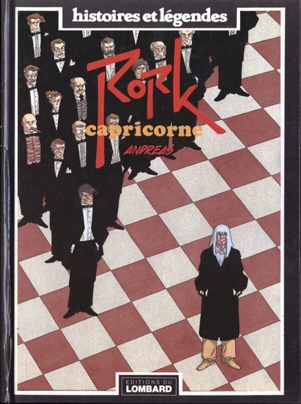 Copertina del volume Rork: Capricorne (ed. DU LOMBARD, dicembre 1990).