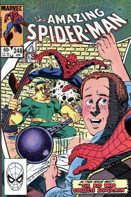 Cover di Amazing Spider-man #248