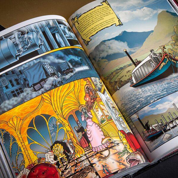 pagine interne del volume Grandville L'Integrale , di Bryan Talbot