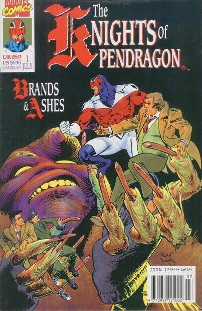 Knights of Pendragon Vol_1 #1 (marvel UK)