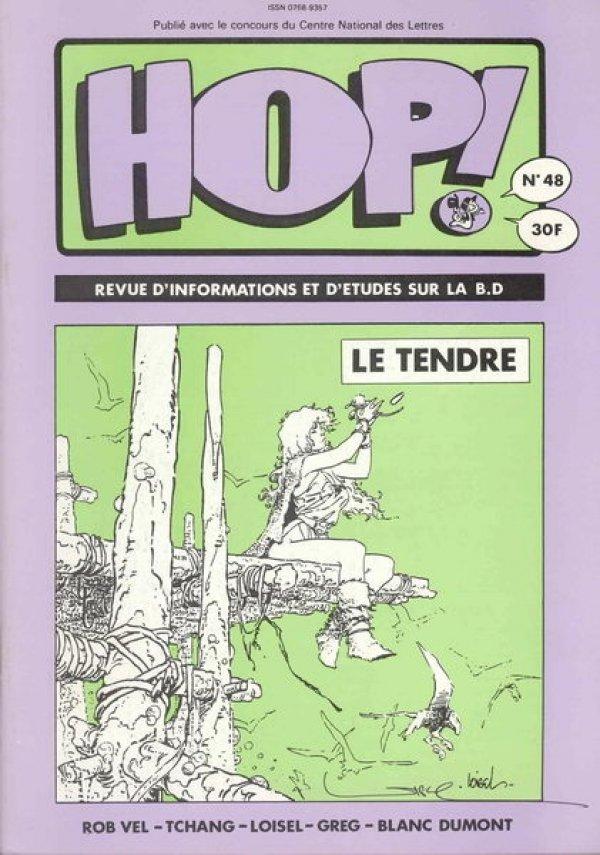 Copertina della rivista HOP! n. 48, ricevuta tramite il nostro amico Francois Hue