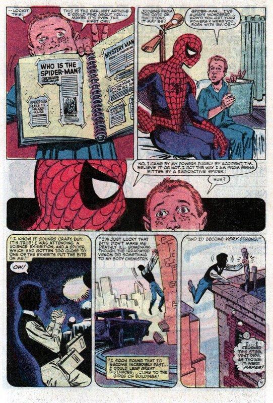 pagina estratta da Amazing Spider-man #248