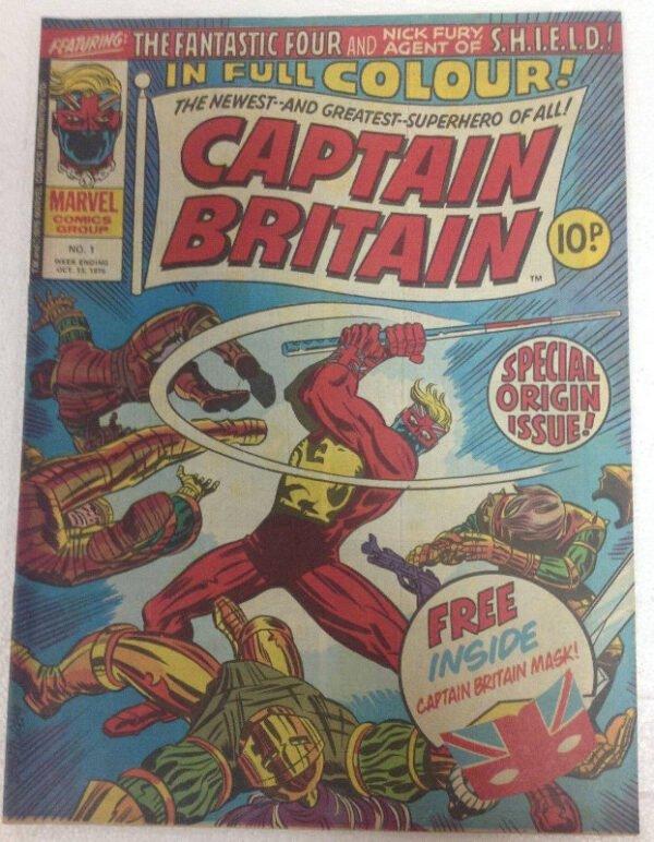 captain britain #1 (MARVEL UK)