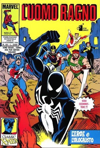 copertina Uomo Ragno n.60, nov. 1990 (ed. Star Comics)