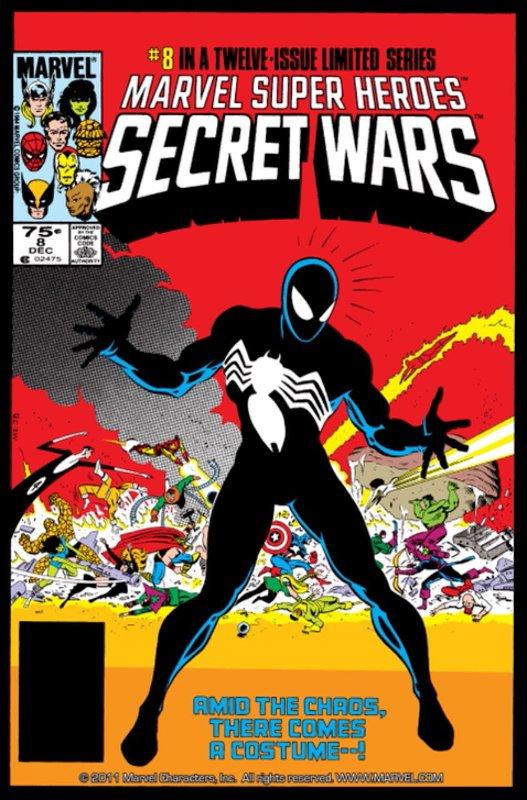 cover Secret Wars #8